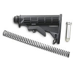 Colt M4 Ar-15 M16 Collapsible Mil Spec Size Stock Kit **Limited Quantity's** UTG Mil Spec Buffer Tube
