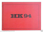 Heckler & Koch Factory Operators Instruction Manual Red Book