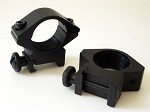 Pair of (dia:25mm / 1 inch) Low Weaver Mount for 20mm rail