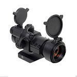 Sightmark Tactical Illuminated Red Dot Sight with Flip Up Covers