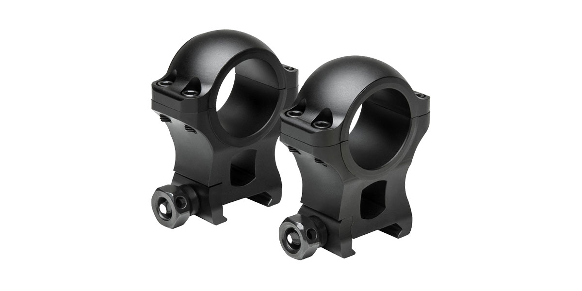 VISM 30mm Hunter Riflescope Rings, 1.3