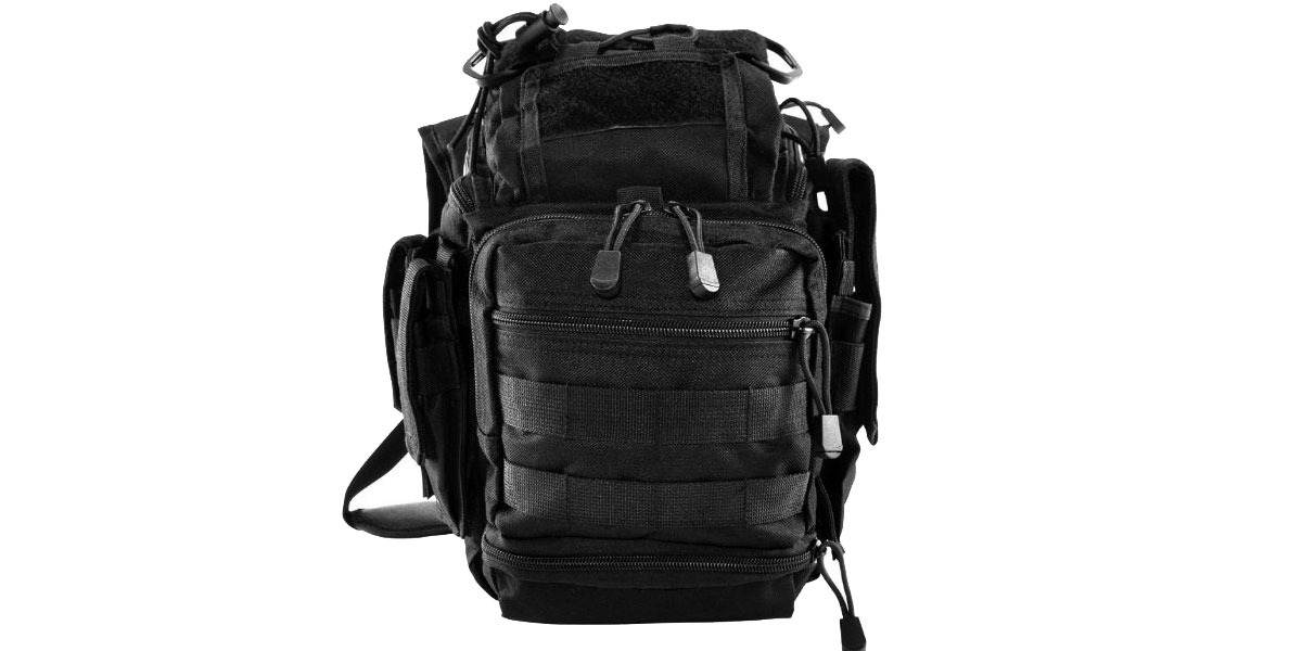 VISM First Responders Utility Bag - Black