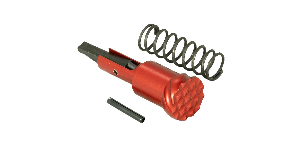 Timber Creek Outdoors Forward Assist Assembly - Anodized Red