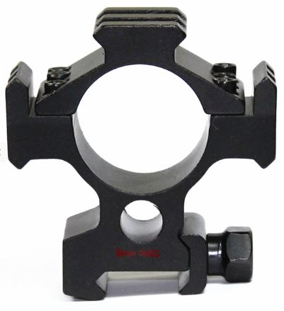 Hydra 30mm Tri-Rail Weaver Mount Scope Rings