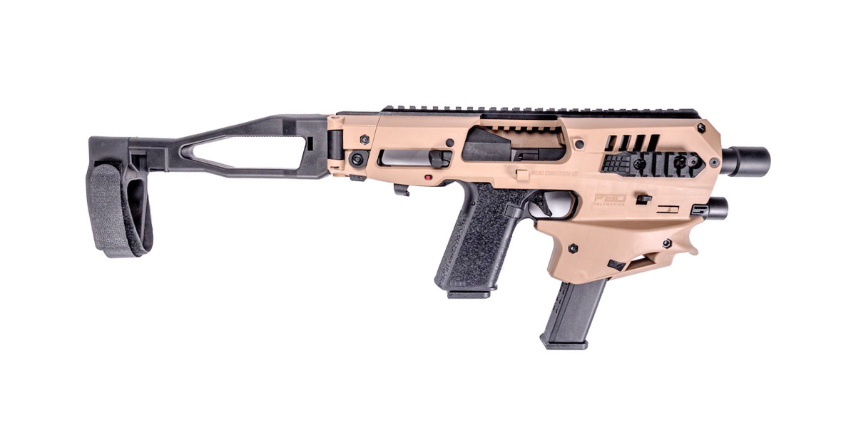 CAA MCKP80 Micro Conversion Kit, for Polymer80 v1 and v2, FDE