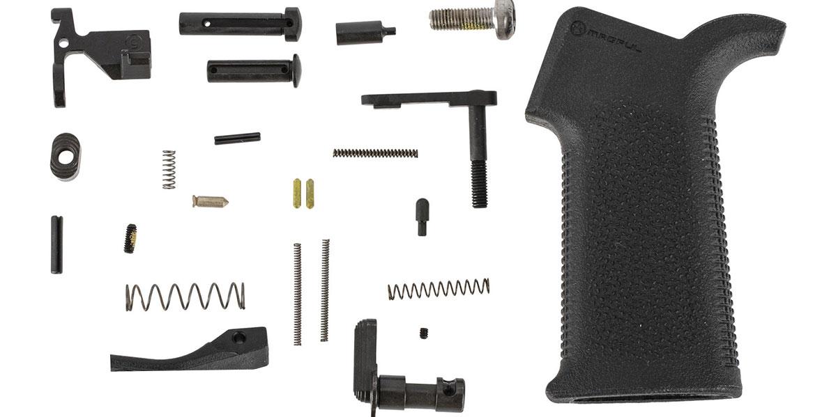 Aero Precision AR-15 MOE SL Lower Parts Kit Minus FCG - Black