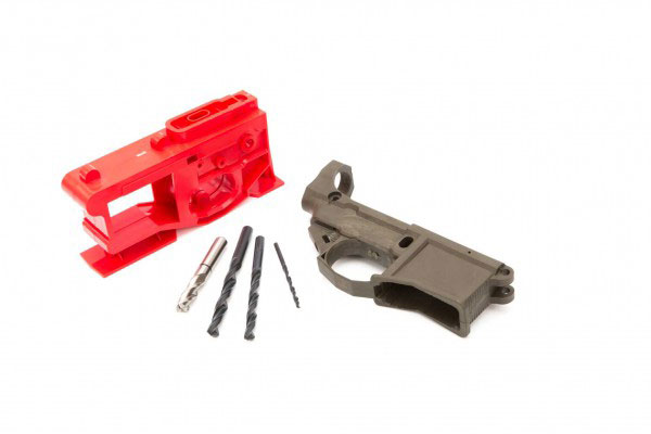 Polymer 80 Lower Receiver Flat Dark Earth Poly 80 Phoenix Gen 2, 80% AR-15  Lower with Jig and Bits