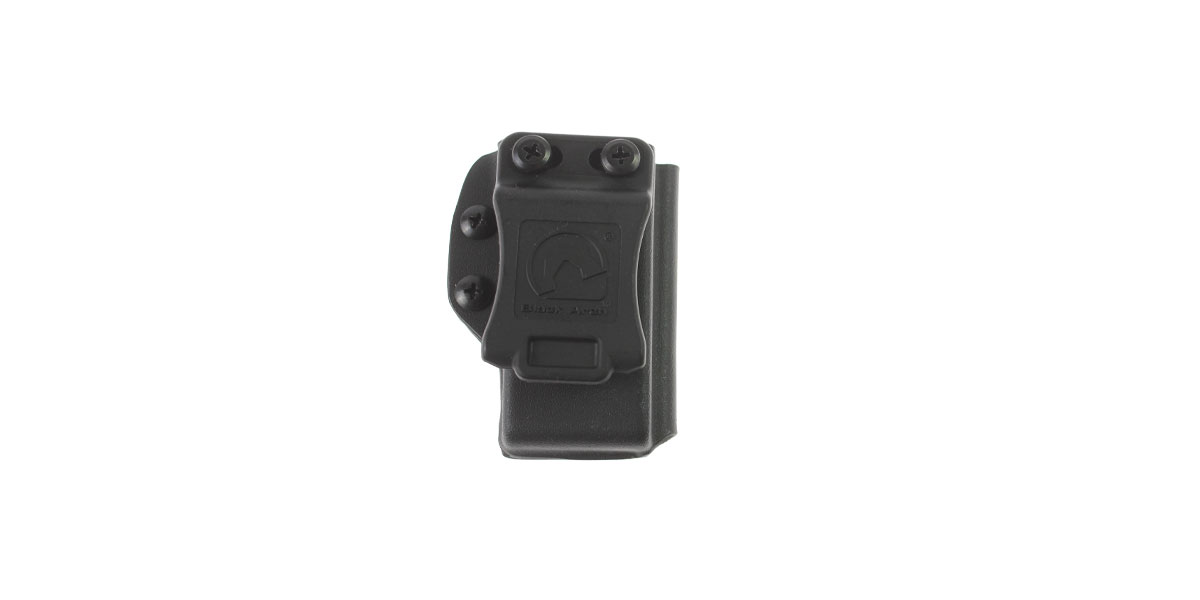 Black Arch Holsters Kydex Pistol Magazine Carrier for Glock G17/G19 Mags, Black