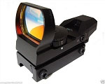 4 Reticle Reflex Sight Red/Green Compact