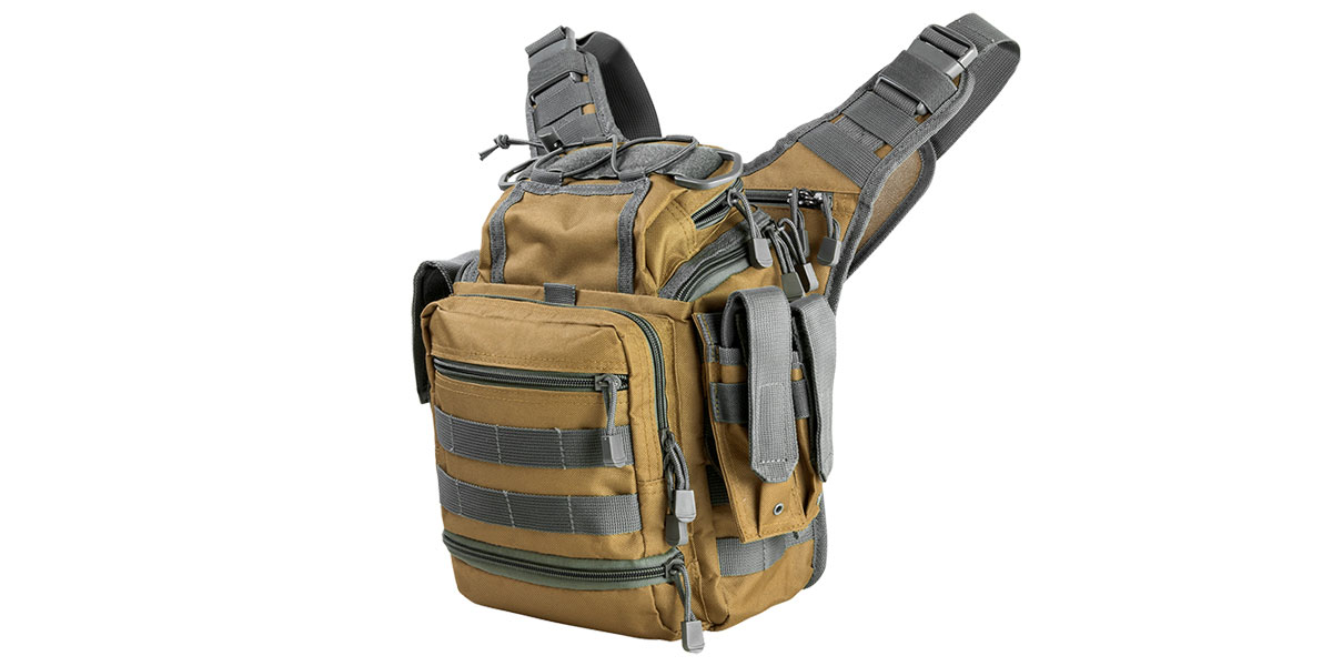 VISM First Responders Utility Bag - Tan w/Urban Gray