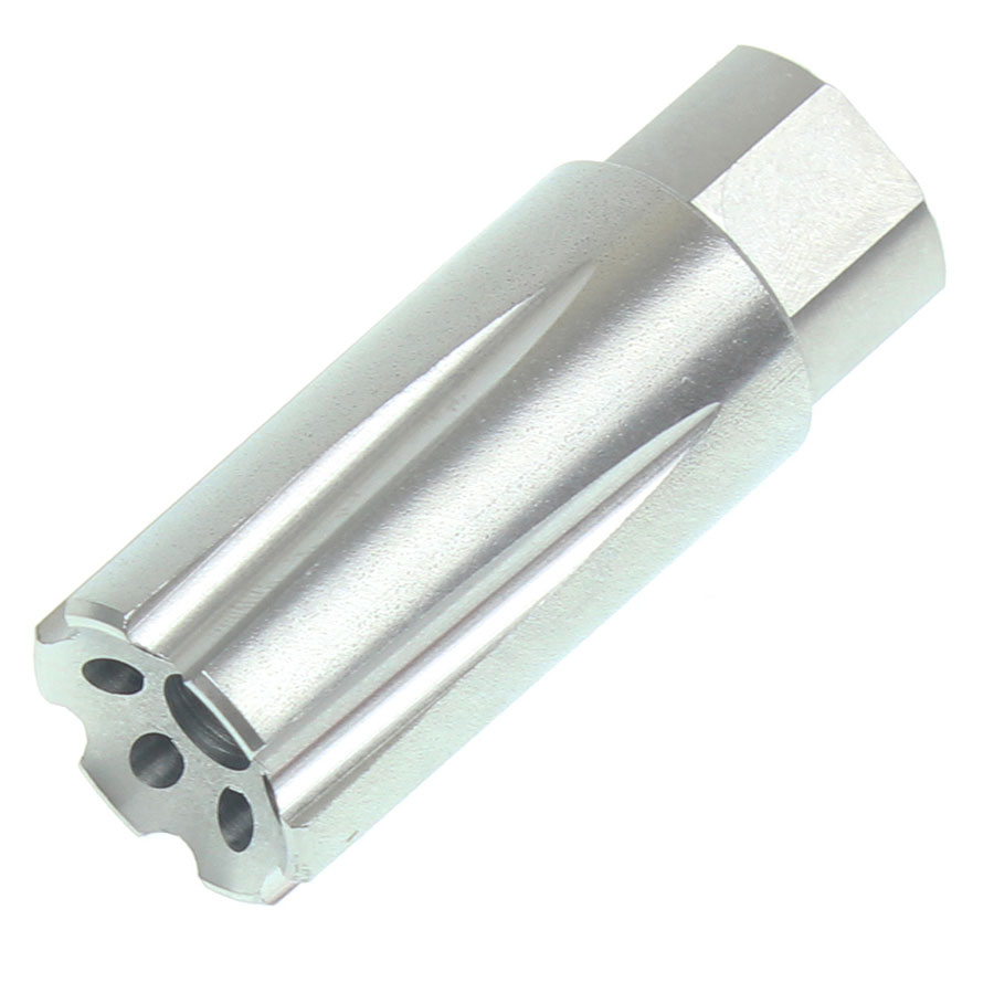 Recoil Technologies  223/5 56 1/2x28 TPI Linear Muzzle Brake Stainless Steel