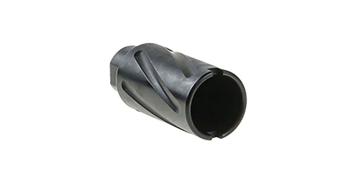 Recoil Technology LR-308 Spiral Fluted Sound Forwarder Muzzle Device