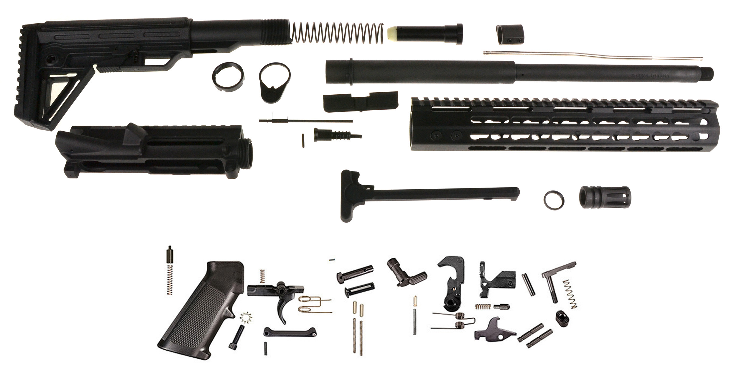 Davidson Defense DIY 7 62x39 Carbine Builder Kit, Everything but the Lower  and BCG!