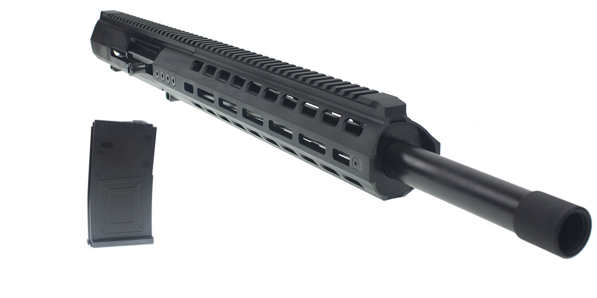 GEN-12 Complete Upper Receiver with Saiga Barrel Threading with Thread Protector and A 5 Round Magazine