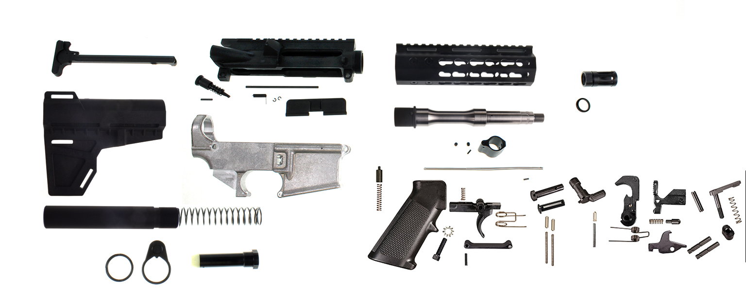 Davidson defense diy 80 lower pistol kit everything but the bcg solutioingenieria Image collections