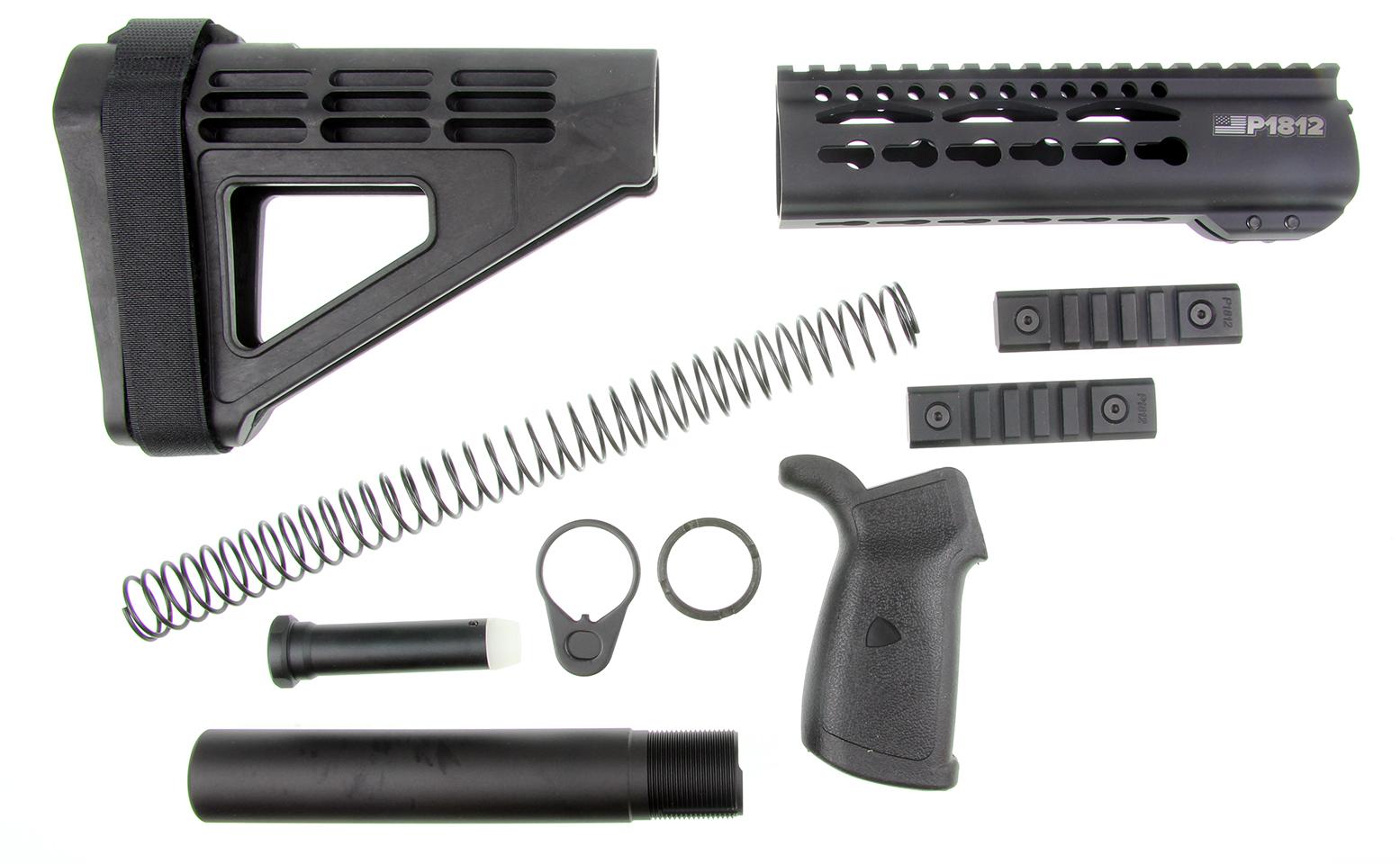 AR 15 Premium Pistol Furniture Kit Sig Sauer Pistol Brace