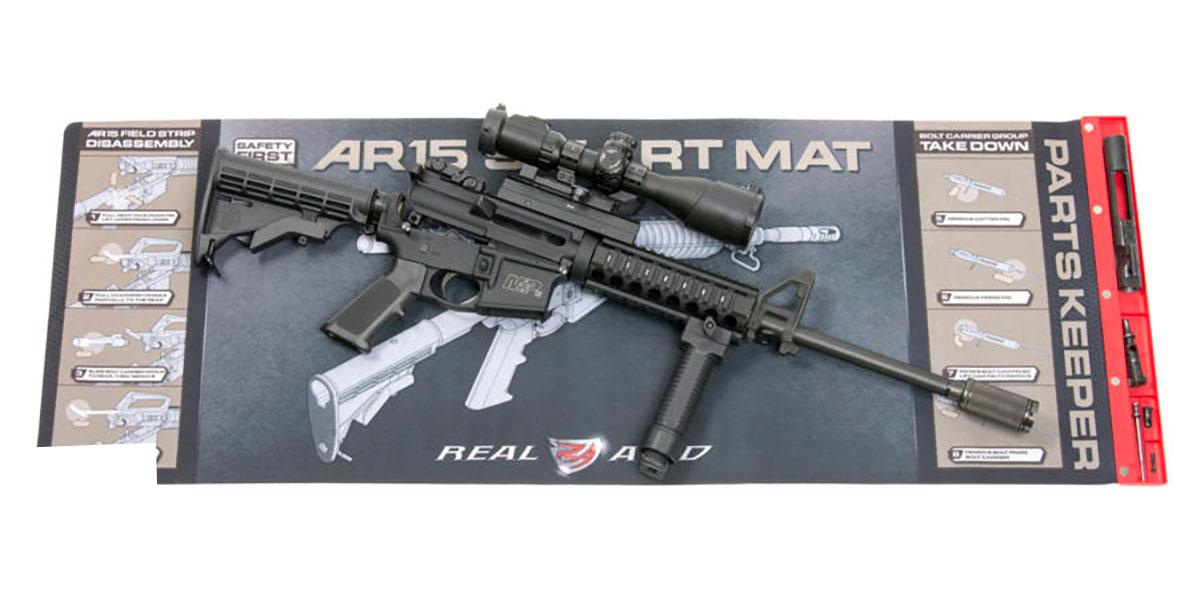 Real Avid AR15 Smart Mat Gun Cleaning Mat