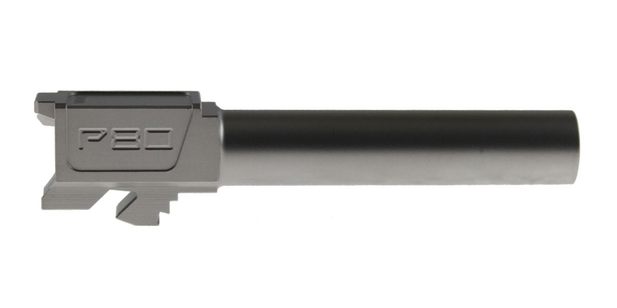 Polymer80 G19 Compatible GEN1-4 9x19mm Non-Threaded Standard Stainless Steel Barrel