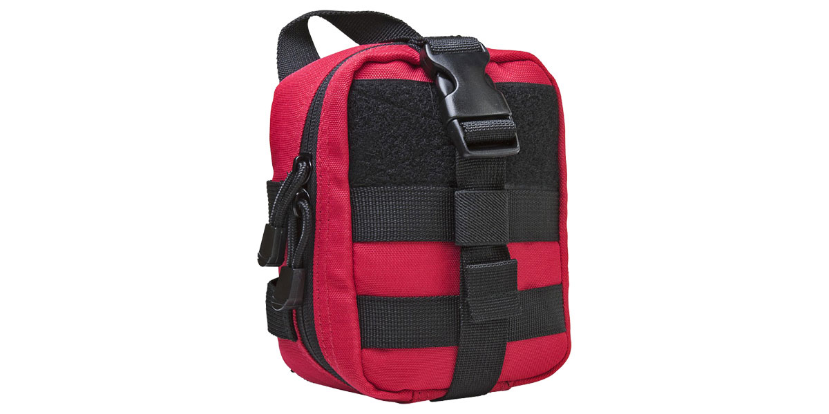 VISM MOLLE EMT Pouch - Red w/ Black Trim