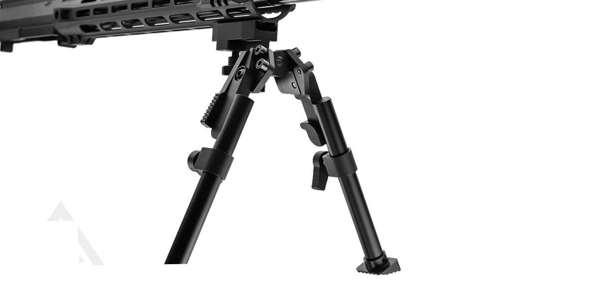 United Defense Heavy Duty Bipod with Foldable and Extendable Legs