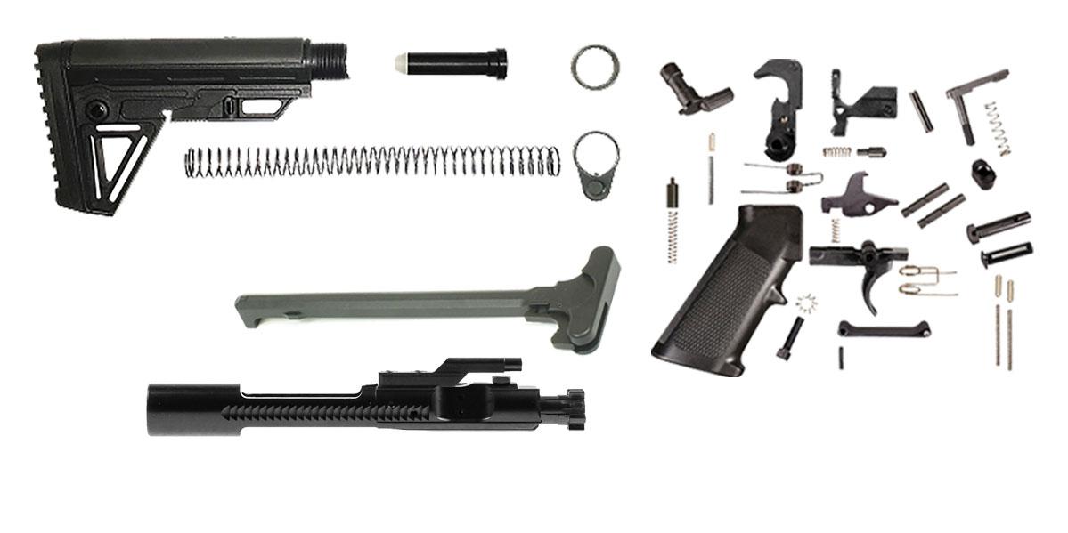 Trinity Force Alpha Stock AR-15 Finish Your Rifle Kit  450 Bushmaster/ 458  Socom Caliber
