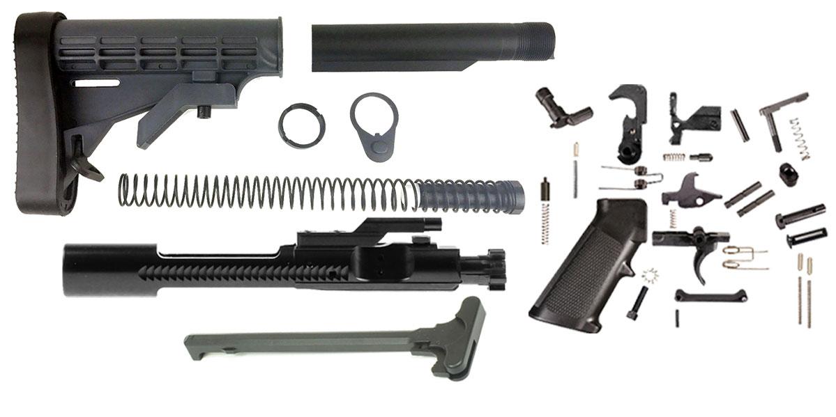 Trinity Force LE Stock AR-15 Finish Your Rifle Kit  450 Bushmaster/ 458  Socom Caliber