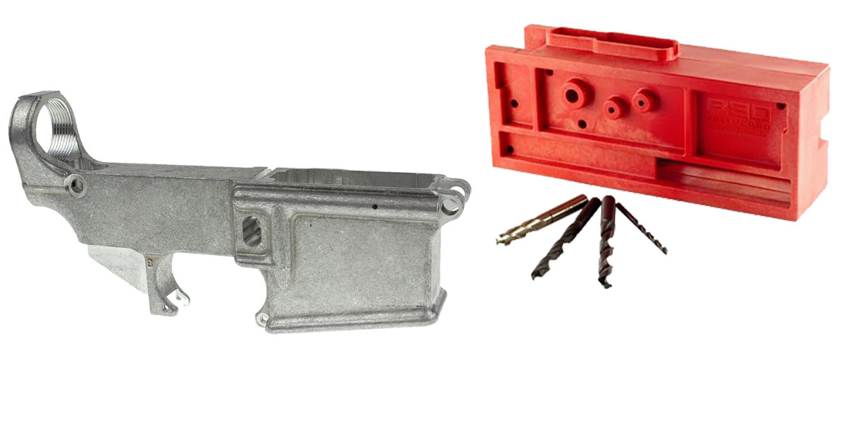 Delta Deals AR-15 80% Lower + Universal Heavy Duty Jig & Tools