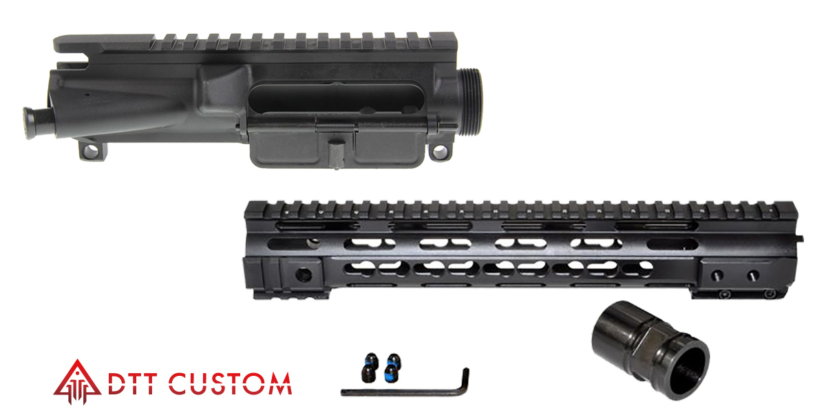 Delta Deals AR-15 Stripped Upper Receiver ASSEMBLED + 12 5