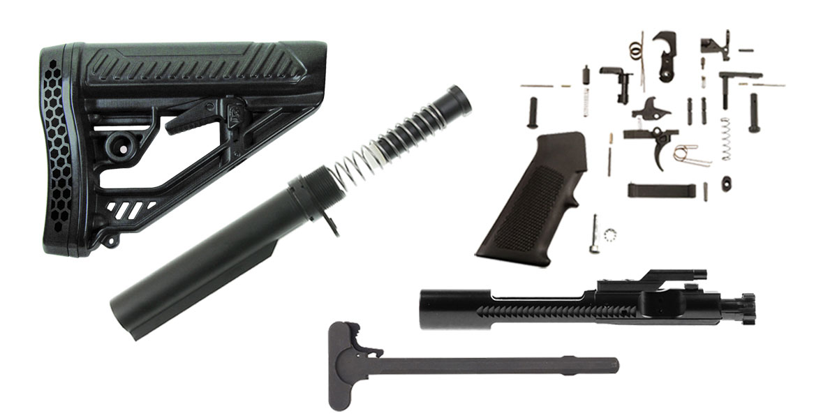 Adaptive Tactical Stock AR-15 Finish Your Rifle Kit -  450 Bushmaster/ 458  Socom