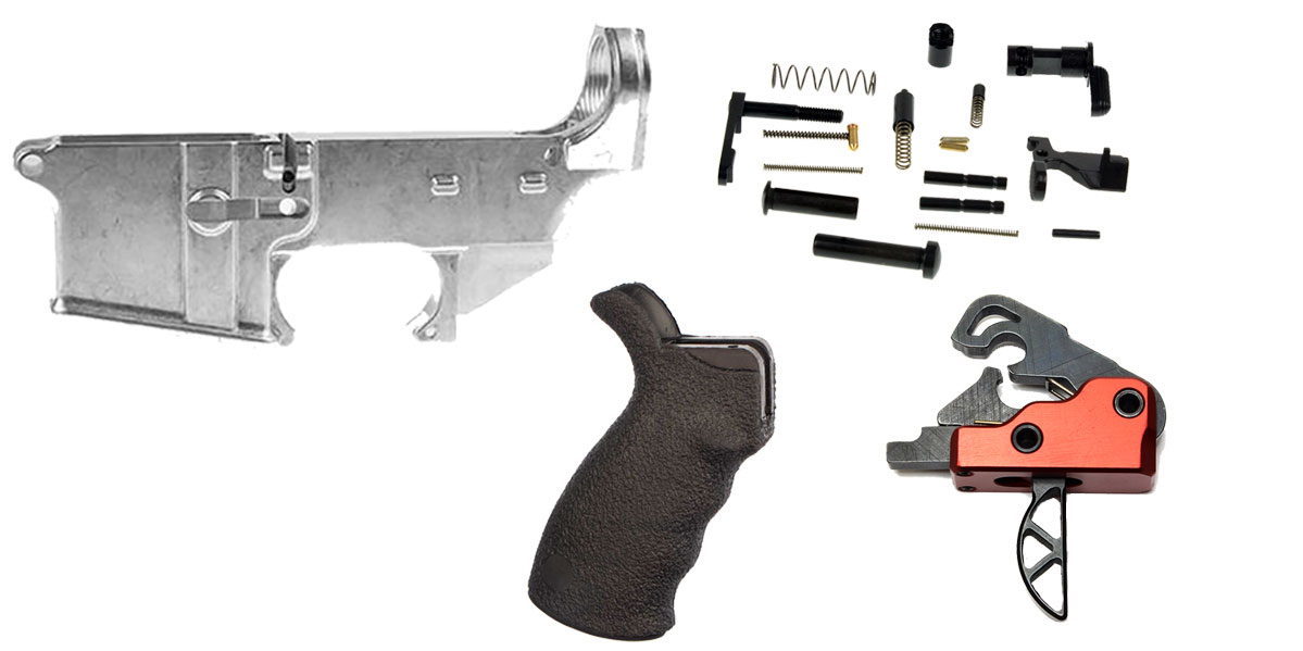 Delta Deals AR-15 Enhanced Finish Your 80% Lower Kit