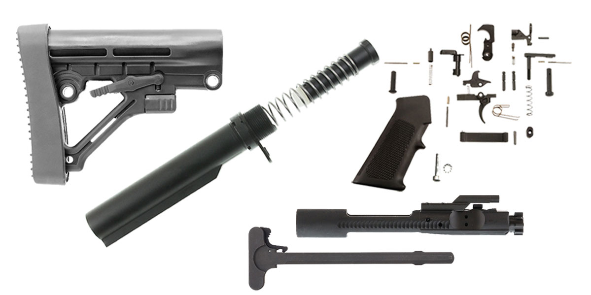 Trinity Force Omega Stock AR-15 Finish Your Rifle Kit - 7 62x39/9x39