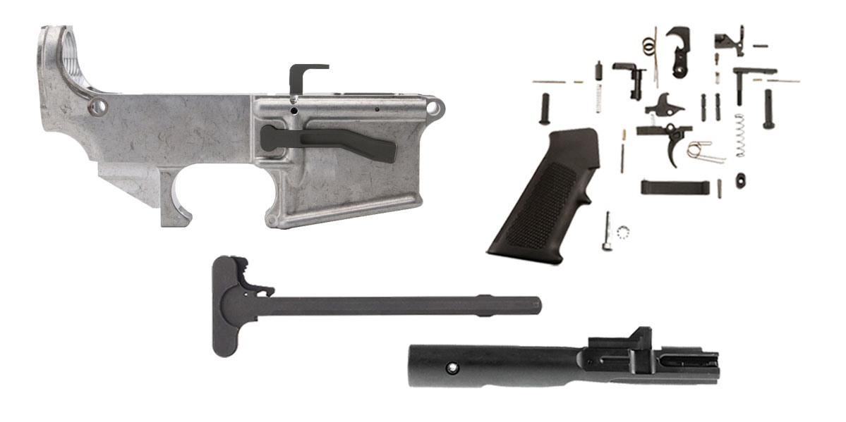 Delta Deals United Defense AR-15 80% 9mm Lower Kit