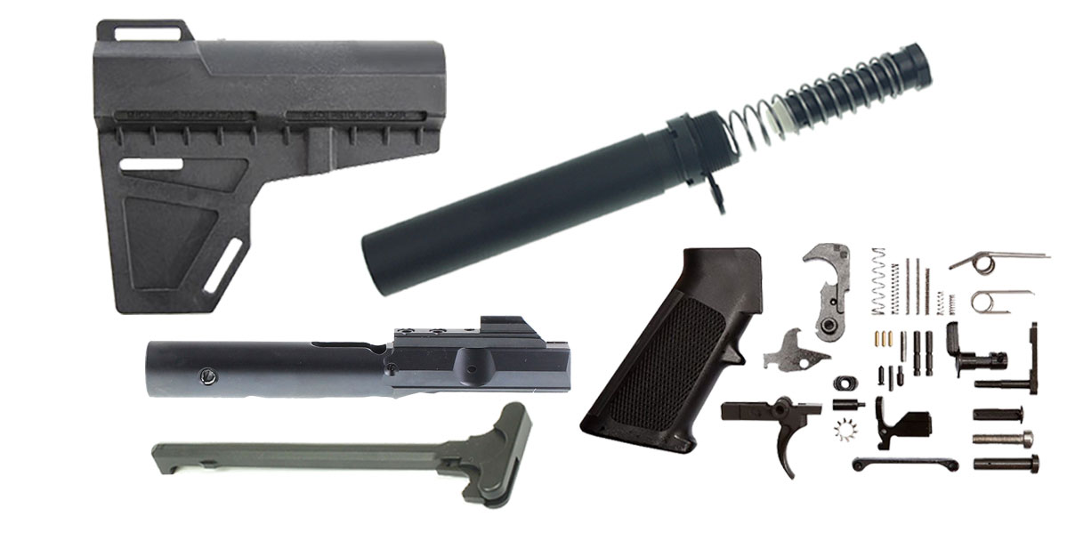 KAK Blade AR-15 Finish Your 9mm Pistol Kit