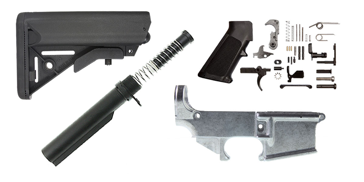 Delta Deals JE Design AR-15 Finish Your 80% Lower Kit