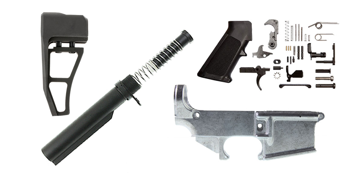 Delta Deals Aim Sports AR-15 Finish Your 80% Lower Kit