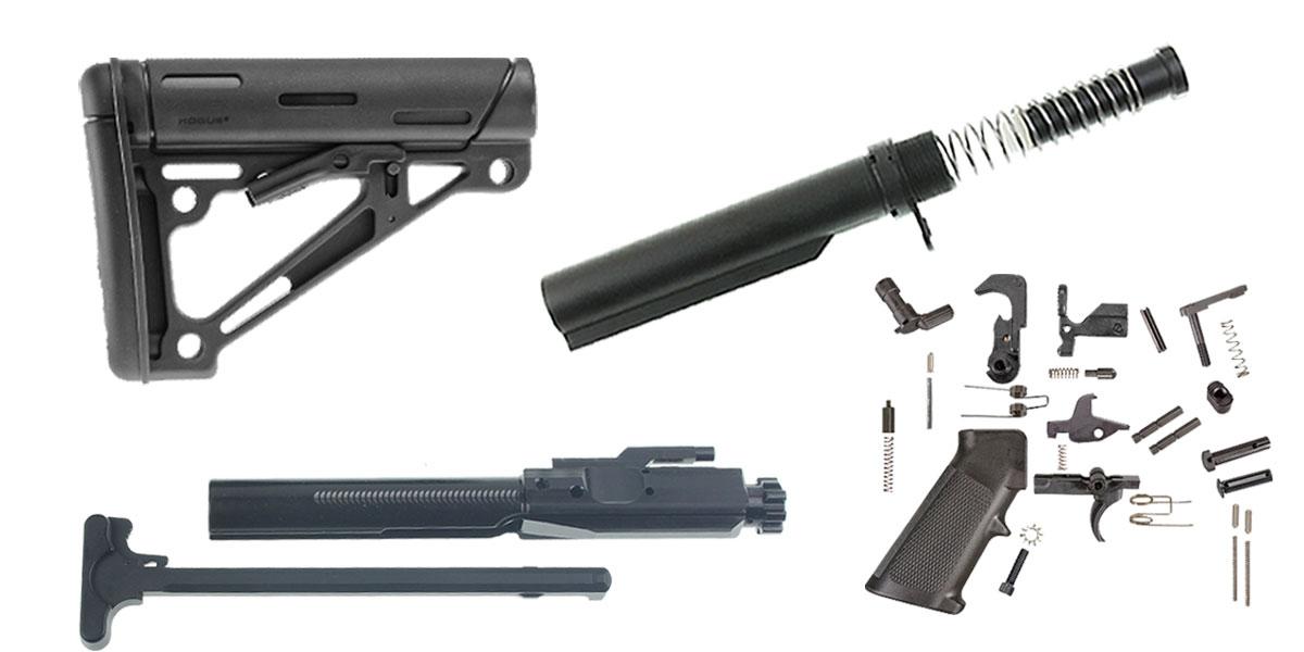 Delta Deals Hogue Lr 308 Finish Your Rifle Build Kit 308
