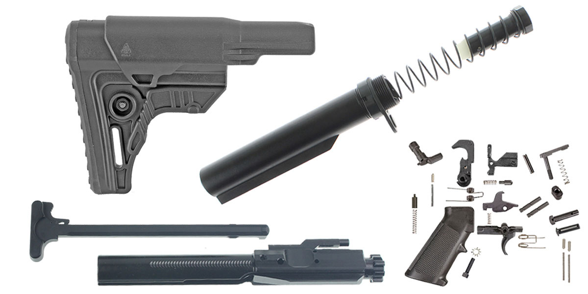 Delta Deals Leapers LR-308 UTG Pro Finish Your Rifle Build Kit - .308 WIN/6.5 Creedmoor/.243 WIN