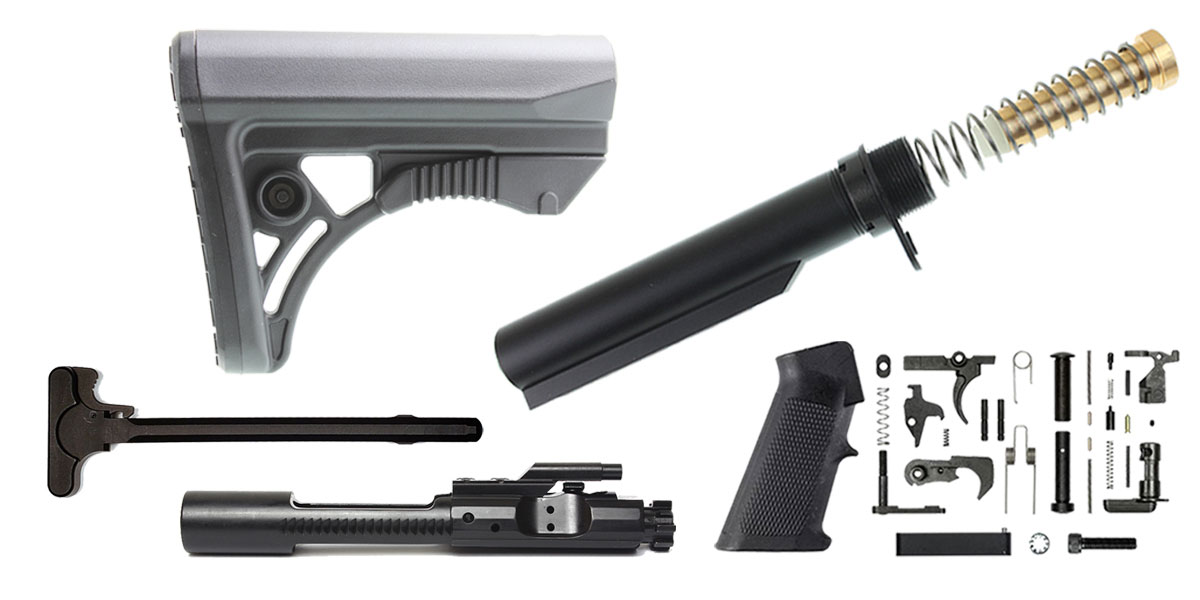 Delta Deals Leapers AR-15 UTG Finish Your Rifle Build Kit - 5.56/.223/.300/.350