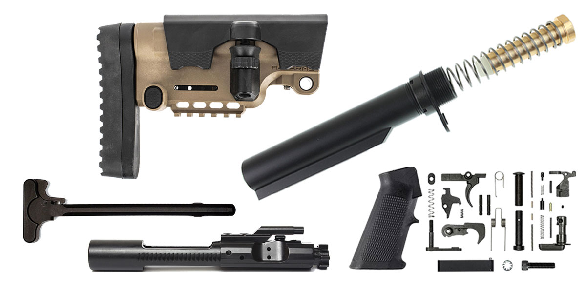 Delta Deals A*B Arms AR-15 Urban Sniper Stock Finish Your Rifle Build Kit - 5.56/.223/.300/.350