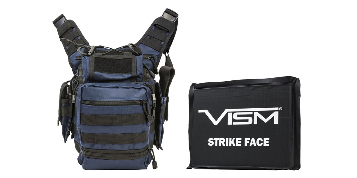 Delta Deals VISM First Responders Utility Bag - Urban Gray + VISM Ballistic Soft Panel - 6