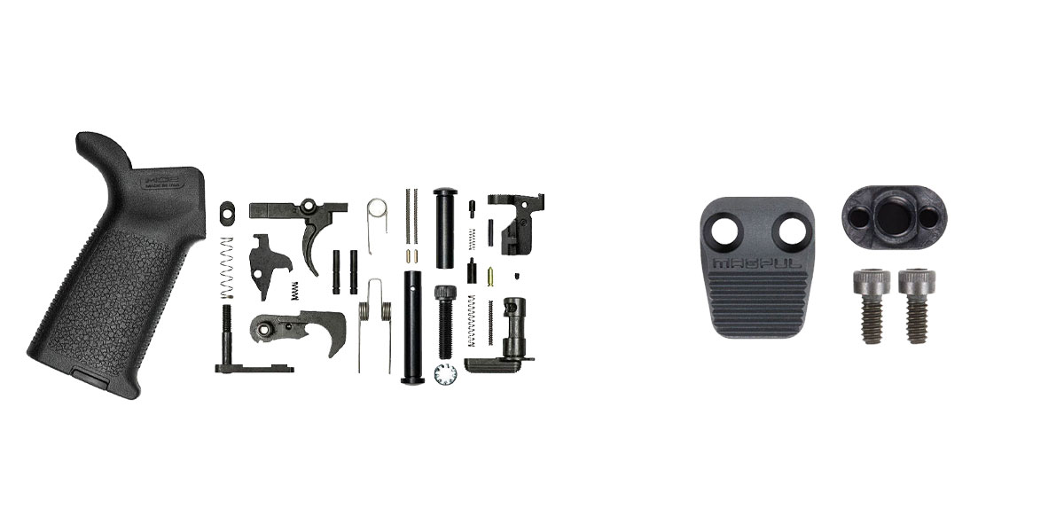 Delta Deals Aero Precision M5 Lower Parts Kit w/ Magpul MOE - BLK + Magpul Industries Enhanced AR Magazine Release