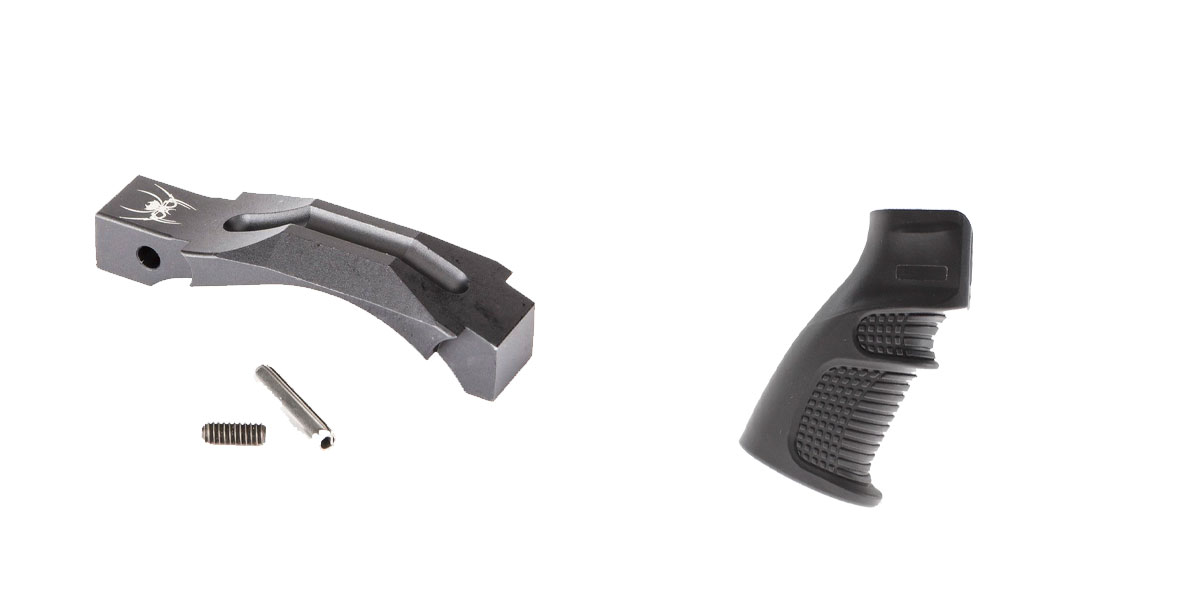 Delta Deals Enhanced Trigger Guard + Pistol Grip: Featuring Spikes and United Defense