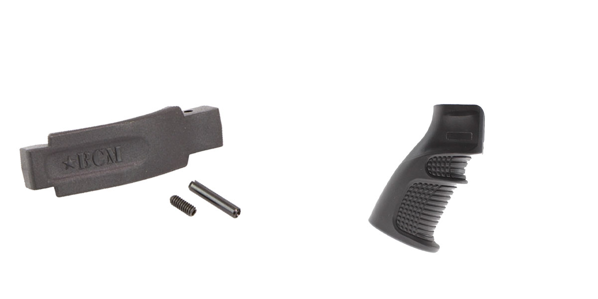 Delta Deals Enhanced Trigger Guard + Pistol Grip: Featuring BCM and United Defense