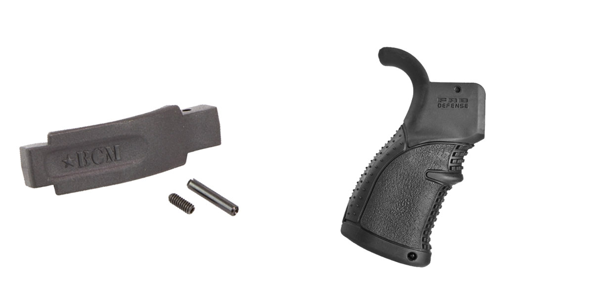 Delta Deals Enhanced Trigger Guard + Pistol Grip: Featuring BCM and FAB Defense