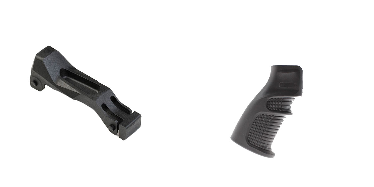 Delta Deals Enhanced Trigger Guard + Pistol Grip: Featuring Strike Industries and United Defense