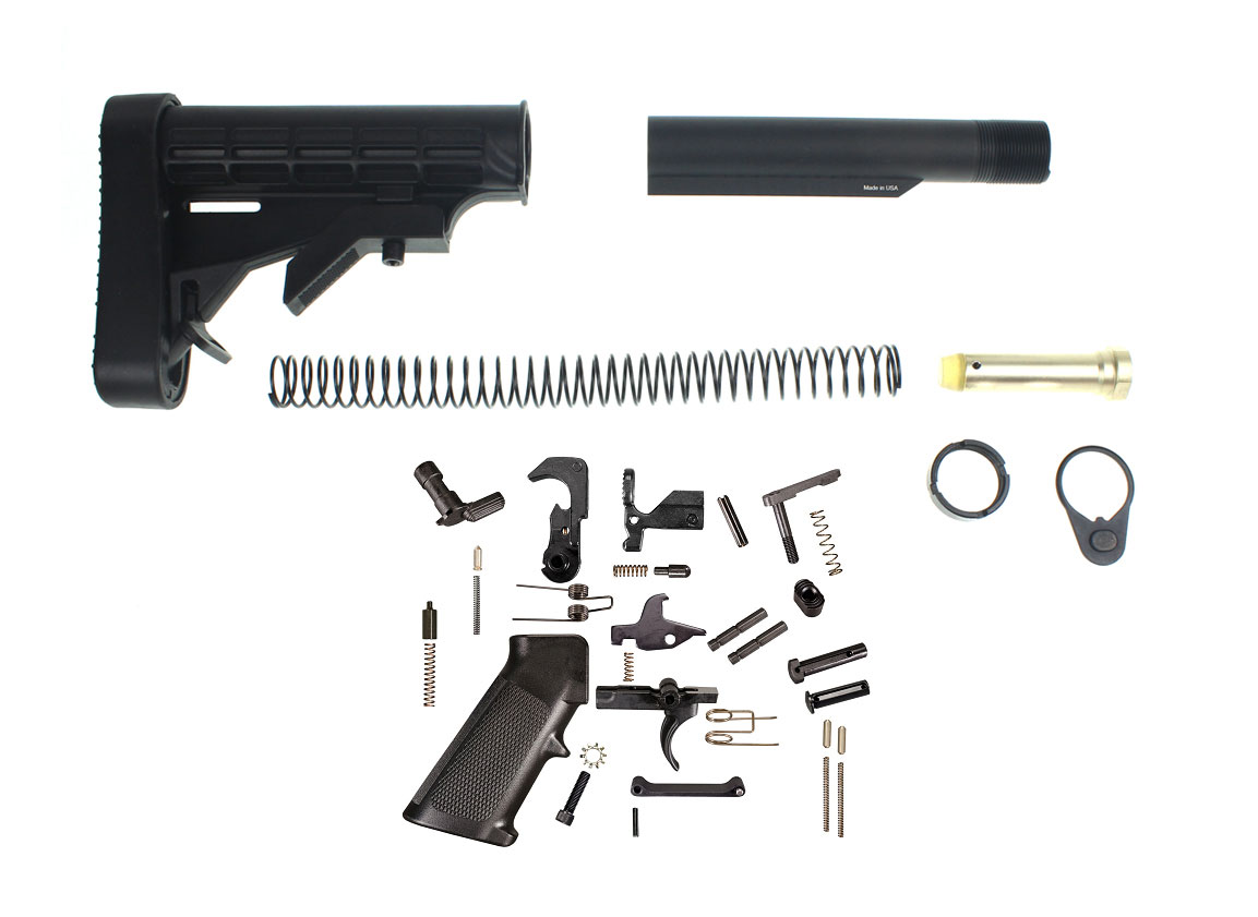 Trinity Force L-E Mil-Spec Stock Buffer Tube Kit With ...