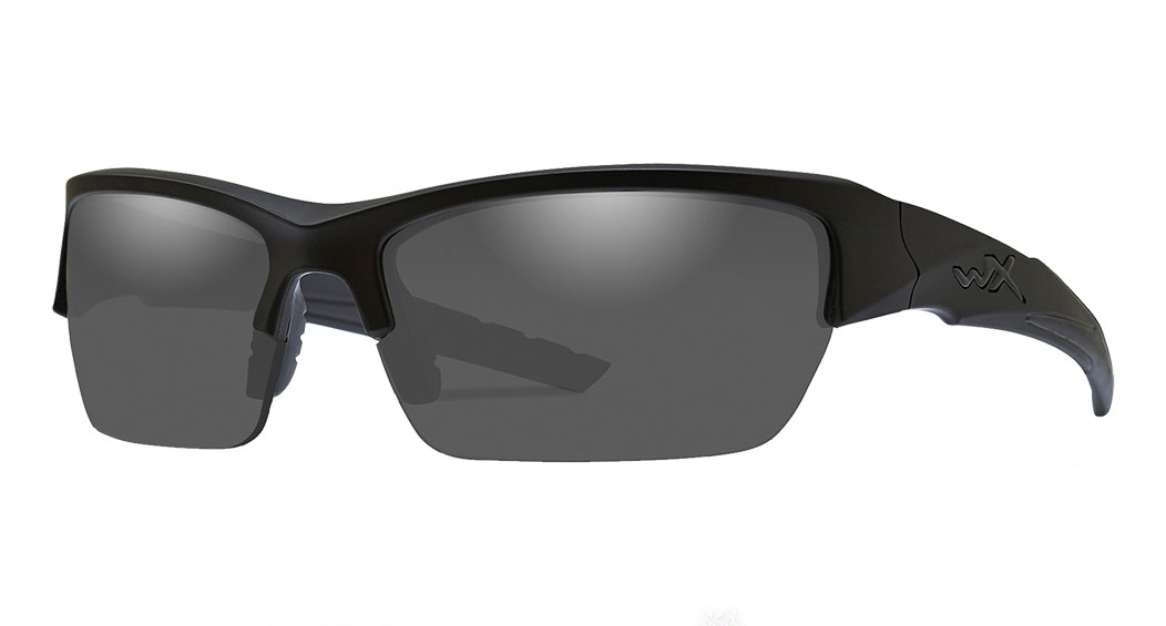 Wiley X Valor Safety Glasses Grey Lens