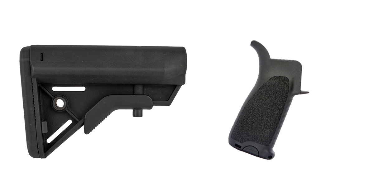 Delta Deals Stock and Pistol Grip Furniture Set: Featuring Davidson Defense + BCM