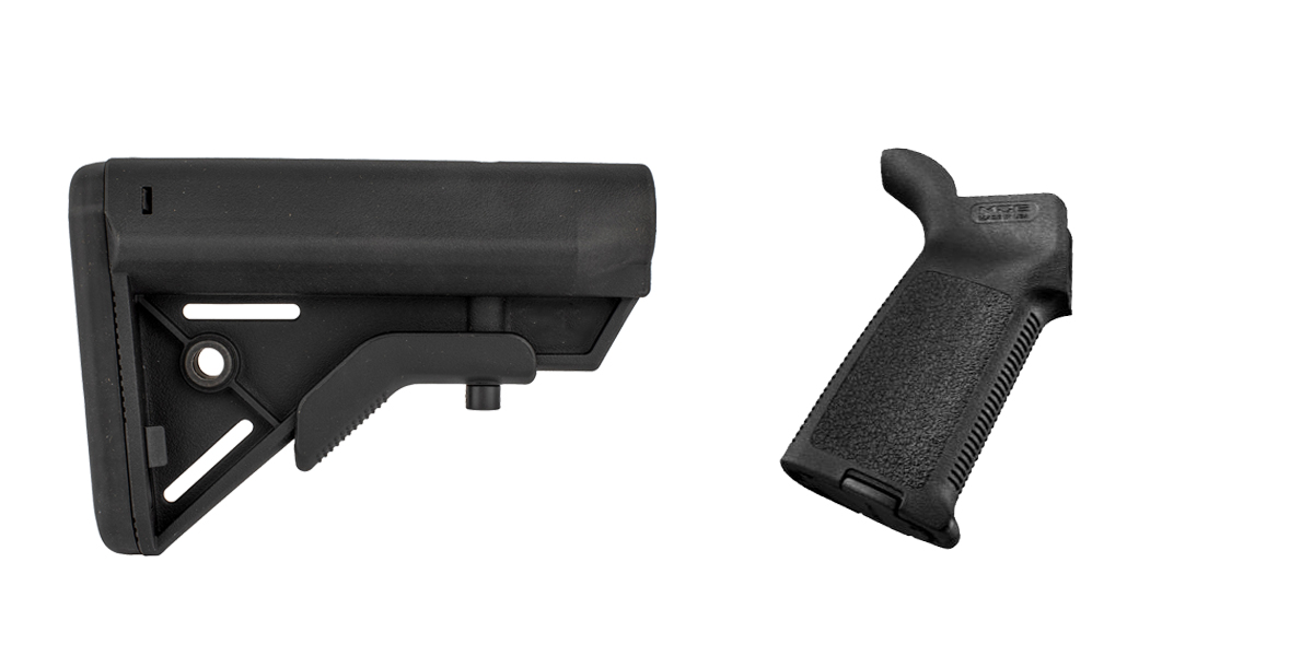 Delta Deals Stock and Pistol Grip Furniture Set: Featuring Davidson Defense + Magpul