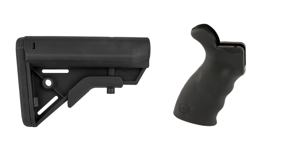 Delta Deals Stock and Pistol Grip Furniture Set: Featuring Davidson Defense + ERGO